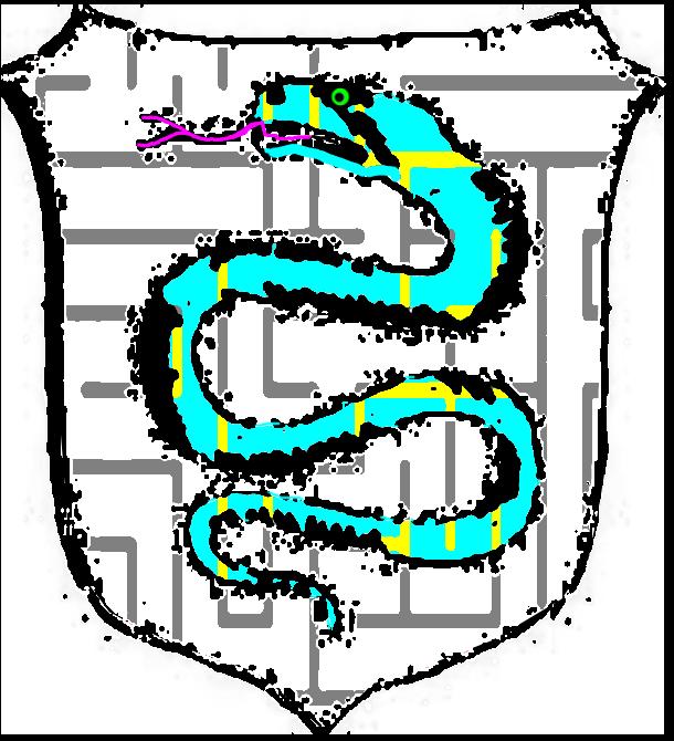 Propos du serpent d'azur Erpq